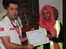 TİKA'dan Sudanlı sağlıkçılara eğitim
