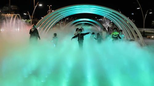 İstanbulda Sis Parkı açıldı
