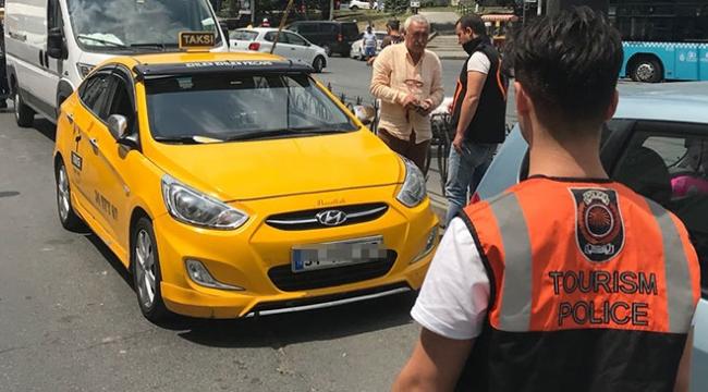 İstanbulda taksilere denetim