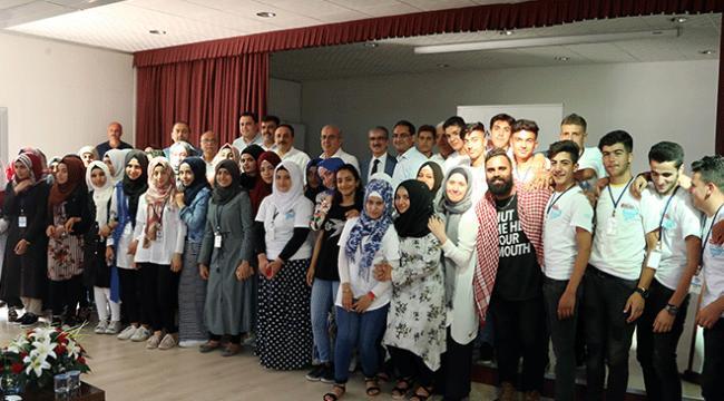 Suriyeli ve Iraklı gençler gazetecilik eğitimi aldı