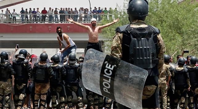 Irakta hükümet karşıtı protestolar şiddetini artırdı