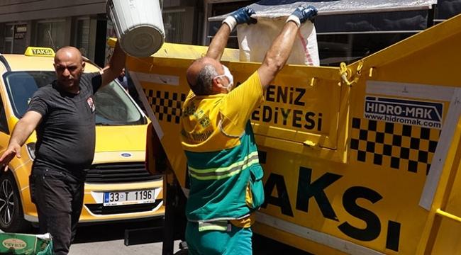 Mersin Akdeniz Belediyesinden Çöp Taksi uygulaması