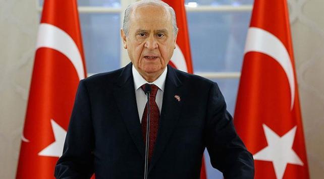 MHP Genel Başkanı Bahçeliden 3 konuda önemli açıklamalar