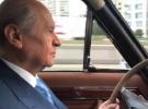 MHP Genel Başkanı Bahçeli klasik otomobiliyle Ankara yollarında