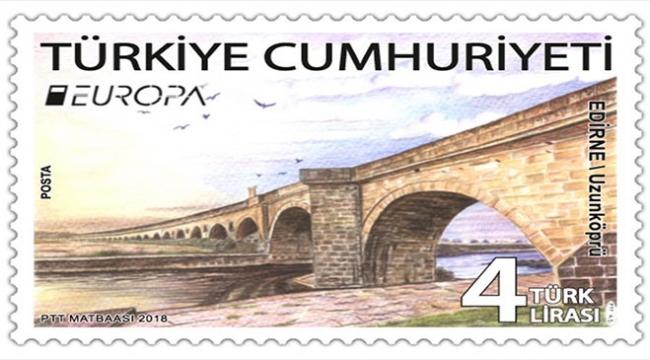 Tarihi Uzunköprü En İyi Avrupa Pulu yarışmasında