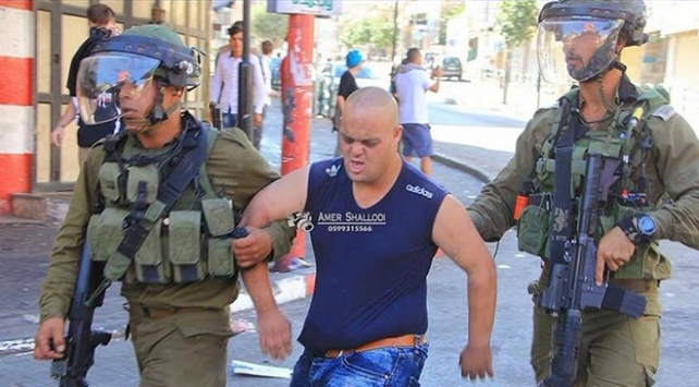 İsrail askerleri down sendromlu Filistinliyi gözaltına aldı