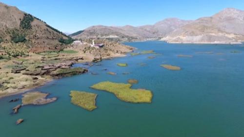 Adıyamanın yüzen adaları korunacak