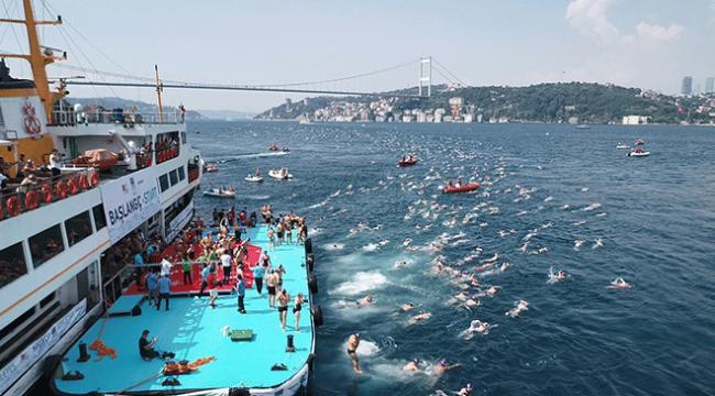 Boğaziçi Kıtalararası Yüzme Yarışı yapıldı