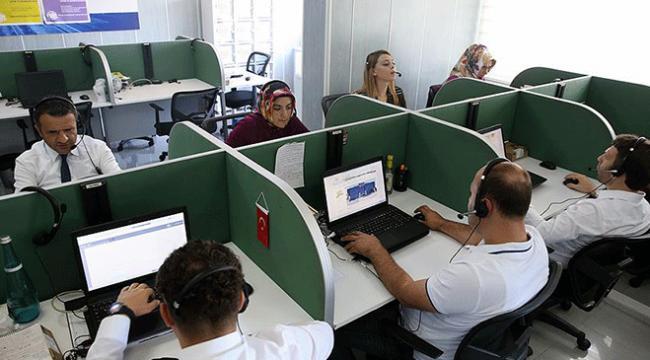 ALO 181 Çağrı Merkezine yılın ilk 6 ayında 250 bin 406 çağrı