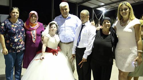 Down sendromlu Kübranın hayali gerçek oldu