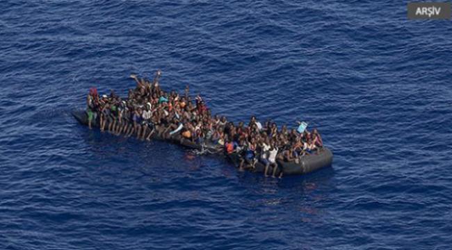 Libya açıklarında 40 göçmen kurtarıldı
