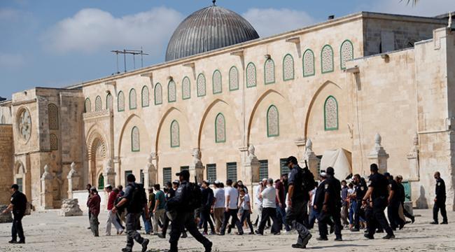 Filistin Dışişleri Bakanlığı, Mescid-i Aksaya baskını kınadı