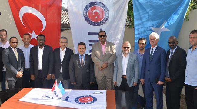TİKAdan Somali işçi sendikalarına donanım desteği