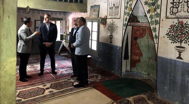 Kültür ve Turizm Bakanı Ersoydan tarihi köy Lübbeye ziyaret