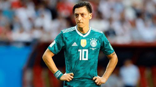 Mesut Özil Almanya Milli Takımını bırakması Alman basınında