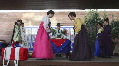 Güney Korenin düğün geleneği Ankarada tanıtıldı