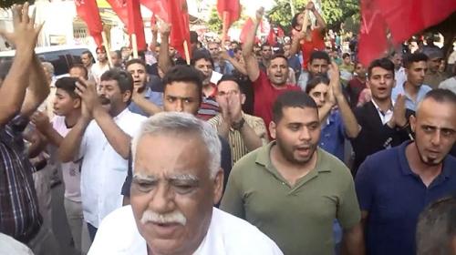 Filistinliler, İsrailin yeni ablukalarını protesto etti