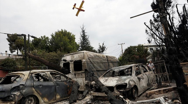 Aigialia Metropoliti Amvrosios: Atina'daki yangının sebebi Çipras'ın ateist olması