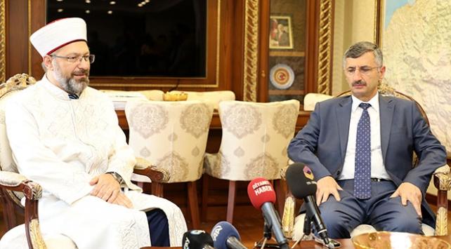 Diyanet İşleri Başkanı Erbaş: Din istismarına engel olmak için mücadele içindeyiz