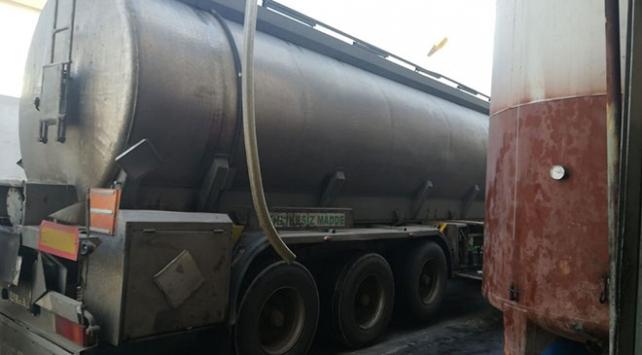 Mersinde bir tankerde 32 ton kaçak akaryakıt bulundu