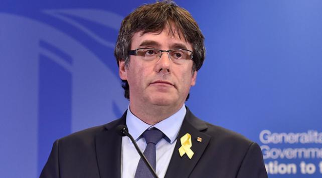 Eski Katalan lider Puigdemont Almanyadan Belçikaya döndü