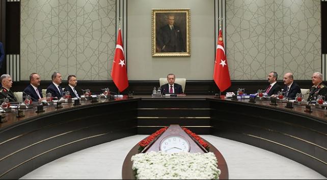 Yeni sistemin ilk Milli Güvenlik Kurulu toplantısı