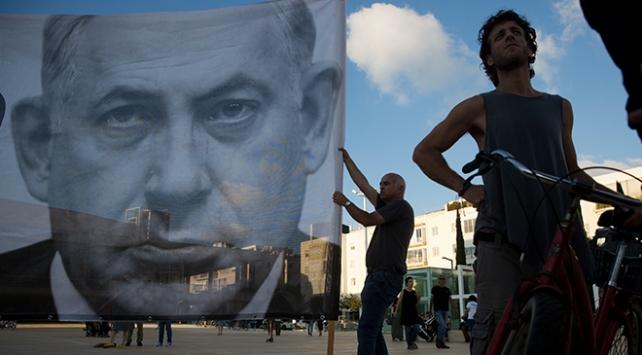 """İsrailde """"Yahudi Ulus Devlet"""" yasasına protesto"""