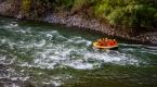 Tarihi ilçede rafting heyecanı