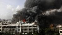 Hindistan'da Hükümet Binasında Yangın