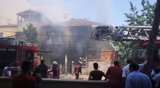 İstanbul Kartalda Yangın