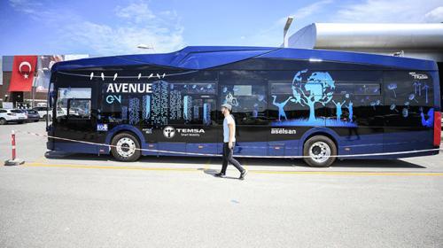 Türkiyenin ilk elektrikli otobüsü Hacettepede hizmet verecek