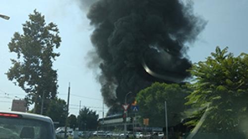 İtalya'nın Bologna Havalimanı yakınlarında patlama