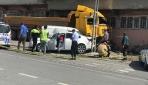 İstanbulda ehliyetsiz sürücü hafriyat kamyonuyla dehşet saçtı