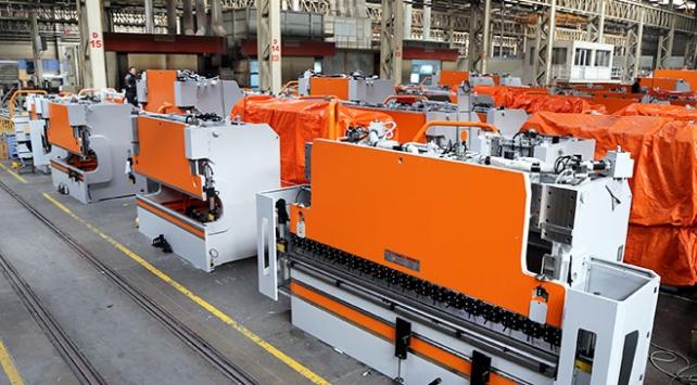 Türkiyenin makine ihracatı 7 ayda 9,8 milyar dolara yükseldi