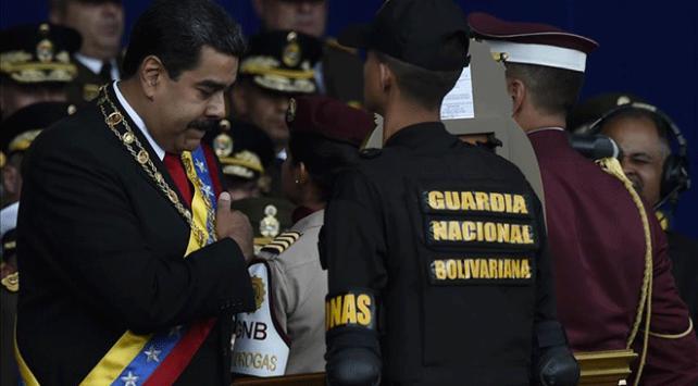 Maduroya suikast girişiminde tutuklama kararı
