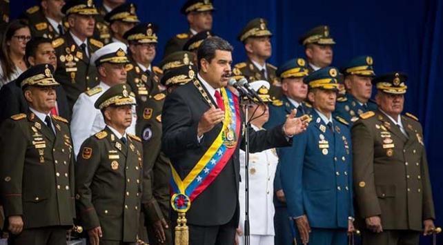 Venezuelada suikast girişiminden sorumlu olanların dokunulmazlıkları kaldırıldı