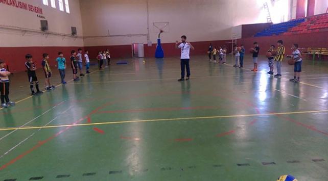 Mardinli çocuklar sporla buluşuyor