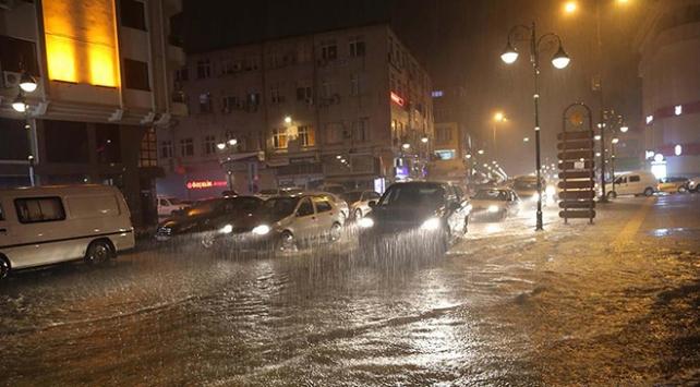 Rize ve Artvin için kuvvetli yağış uyarısı
