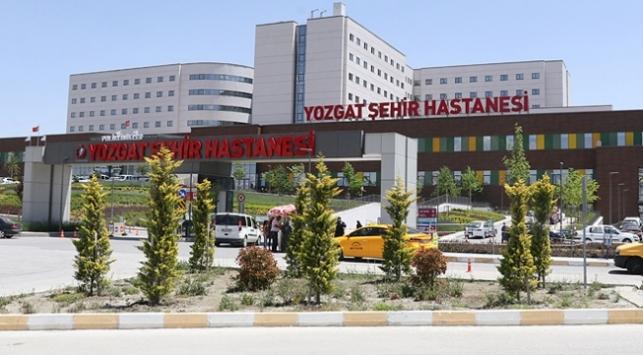 Yozgat Şehir Hastanesi 1,5 milyon hastaya hizmet verdi