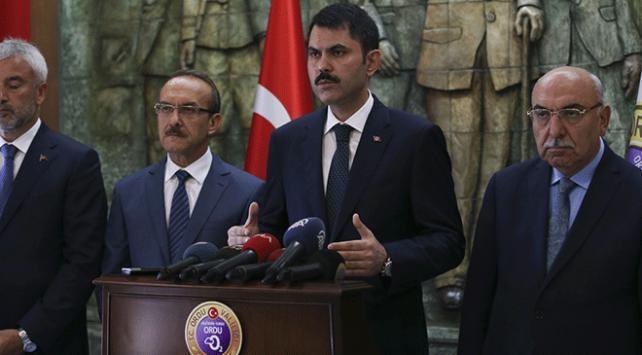 Çevre ve Şehircilik Bakanı Kurum: Karadeniz Bölgesi için eylem planı hazırlıyoruz