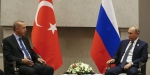 Cumhurbaşkanı Erdoğan Rusya Devlet Başkanı Putin ile görüştü