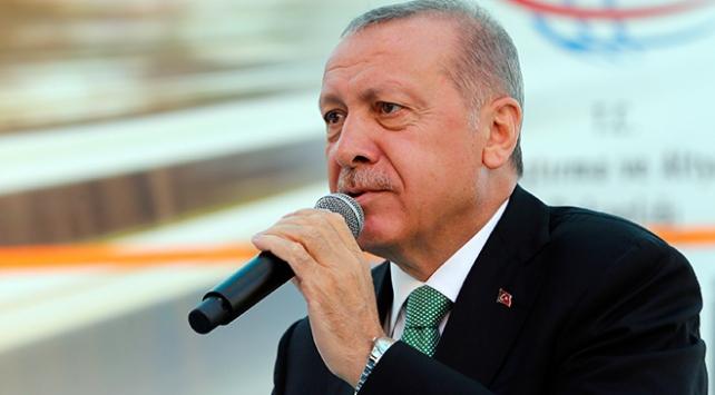 Cumhurbaşkanı Erdoğan: Saldırılara rağmen büyümeye devam edeceğiz