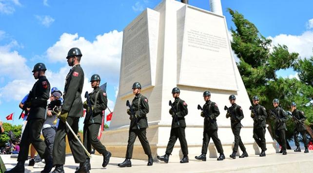 Anafartalar Zaferinin 103üncü yıl dönümü için tören düzenlendi