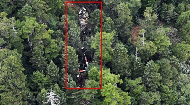 Japonyada düşen helikopterde 9 kişi hayatını kaybetti