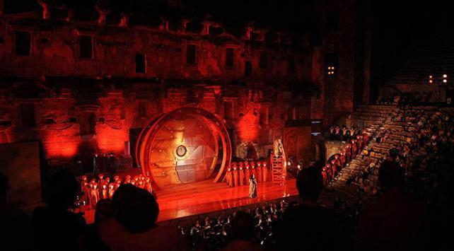 """""""Turandot"""" operası İtalyadan sonra Aspendosa geliyor"""