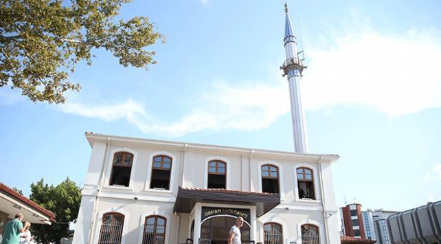 Tarihi Orhan Camiinin minaresi aslına uygun yenilenecek