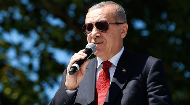 Cumhurbaşkanı Erdoğan: Biz hukuk devletiyiz hukukun dışına asla çıkmayız