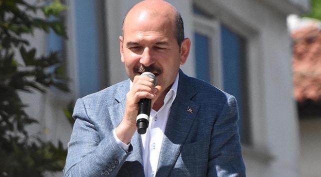 İçişleri Bakanı Soylu: Milletin adamının yanında olduğunuzu haykırıyorsunuz