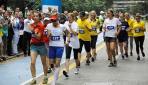 Bosna Hersekte postacı yürüyüş yarışması düzenlendi