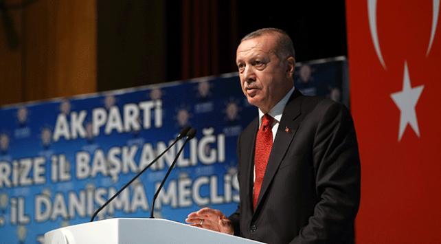 Cumhurbaşkanı Erdoğan: Ne yaparsanız yapın ekonomik hedeflerimizden vazgeçmeyeceğiz